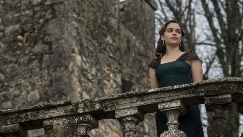 Emilia Clarke Talks to Walls in Dreary Ghost Story 'Voice From the Stone'