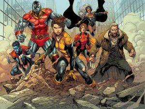 An image from X-Men Gold.