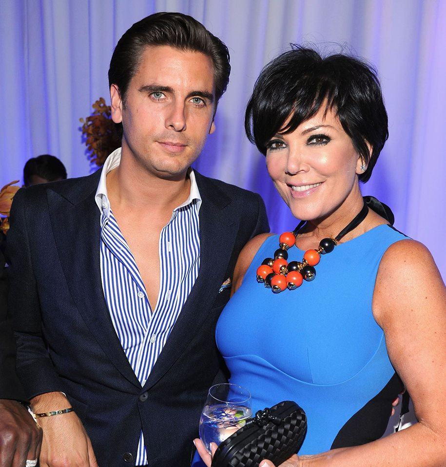 Kris Jenner and Scott Disick Collaborate; Cheryl Cole Moves