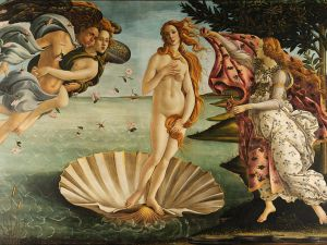 Botticelli's The Birth of Venus.