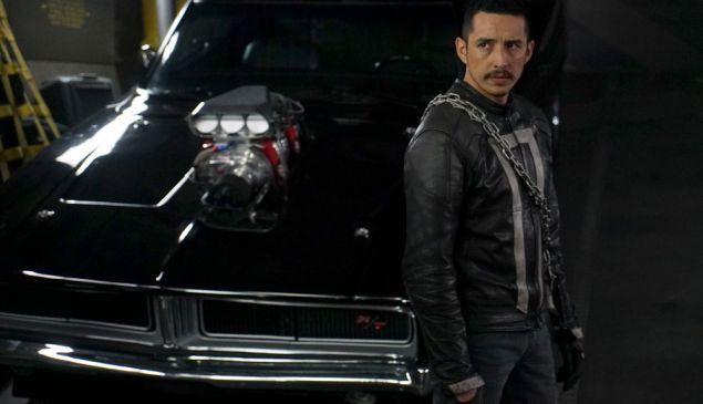 Gabriel Luna as Ghost Rider.