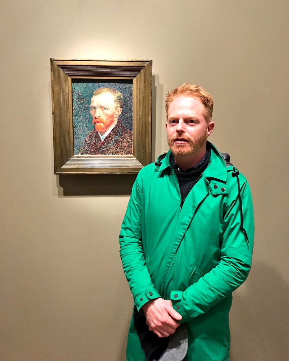 Is Jesse Tyler Ferguson Really Vincent van Gogh?