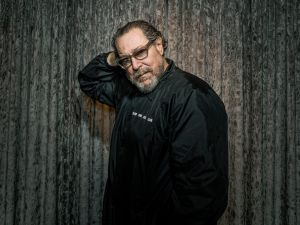 Filmmaker and artist Julian Schnabel.