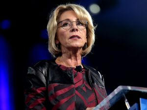 Secretary of Education Betsy DeVos.