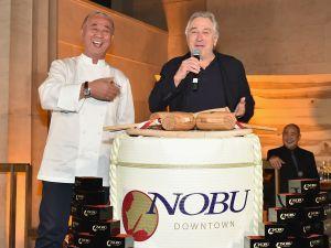 Chef Nobu Matsuhisa, Robert De Niro.