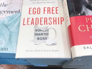 How can leaders fight their own destructive ego-driven habits?
