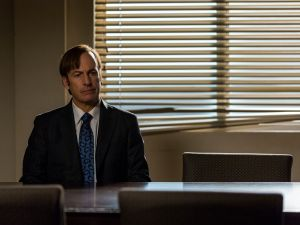 Bob Odenkirk as Jimmy McGill.