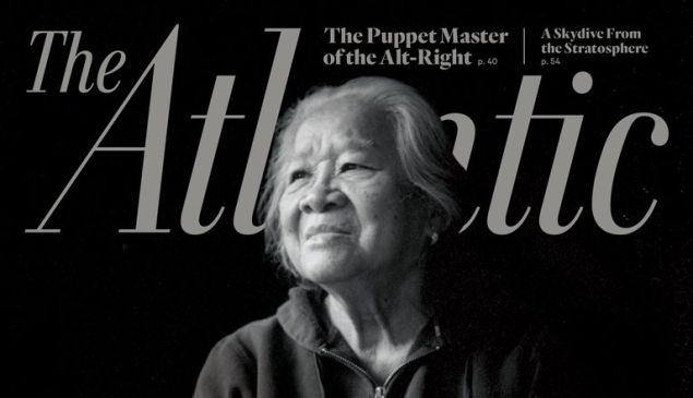 The cover of the newest issue of The Atlantic.