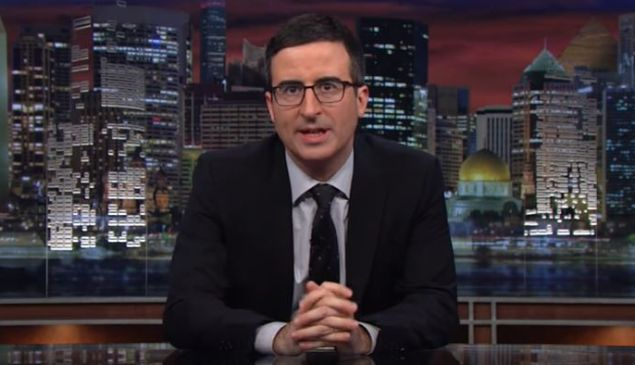 John Oliver talks about the wealth gap on 'Last Week Tonight' in 2014.