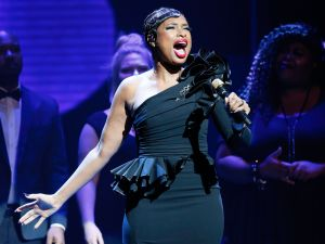 Jennifer Hudson performs during Center Theatre Group's 50th Anniversary Celebration.