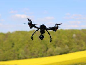 One area that's seen a rush of new entrants is the use of drones to monitor crops.