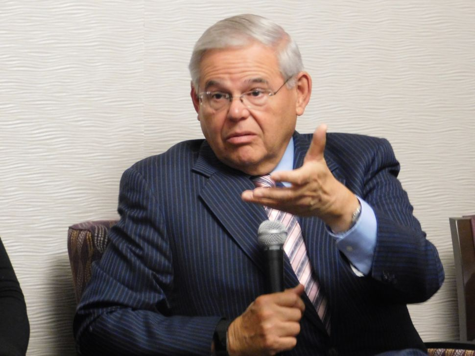 Menendez: MacArthur Amendment Bad for Women's Health
