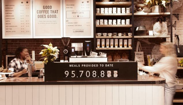 The meal ticker at the FEED Café.
