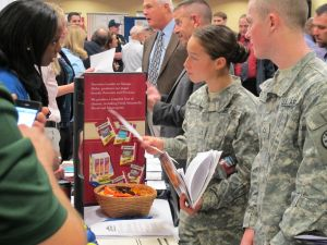 Veterans and service members on the job hunt.