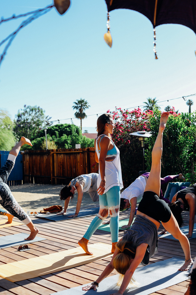 Entertaining AF: Free People's 'Escape' Getaway Offers Yoga, Naps and the Integratron