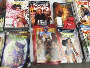 A look at the offerings for Free Comic Book Day 2017 at Sphinx Comics, including Secret Empire #1.