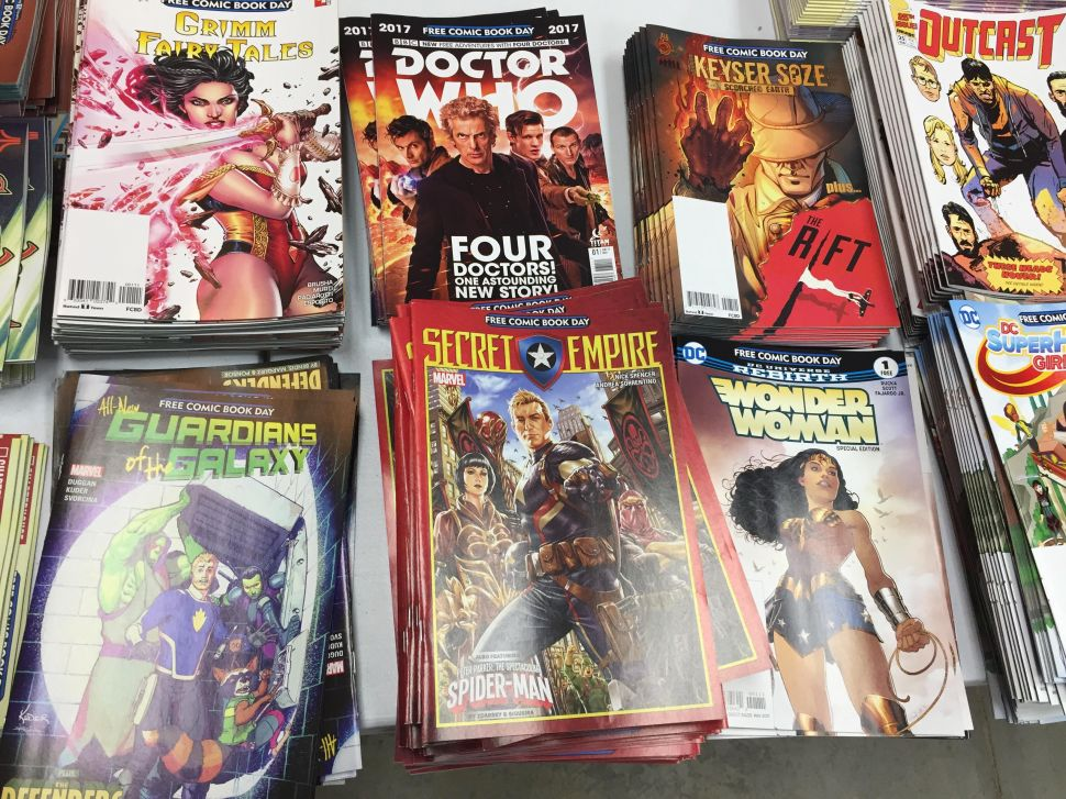 The Best and Worst of Free Comic Book Day 2017