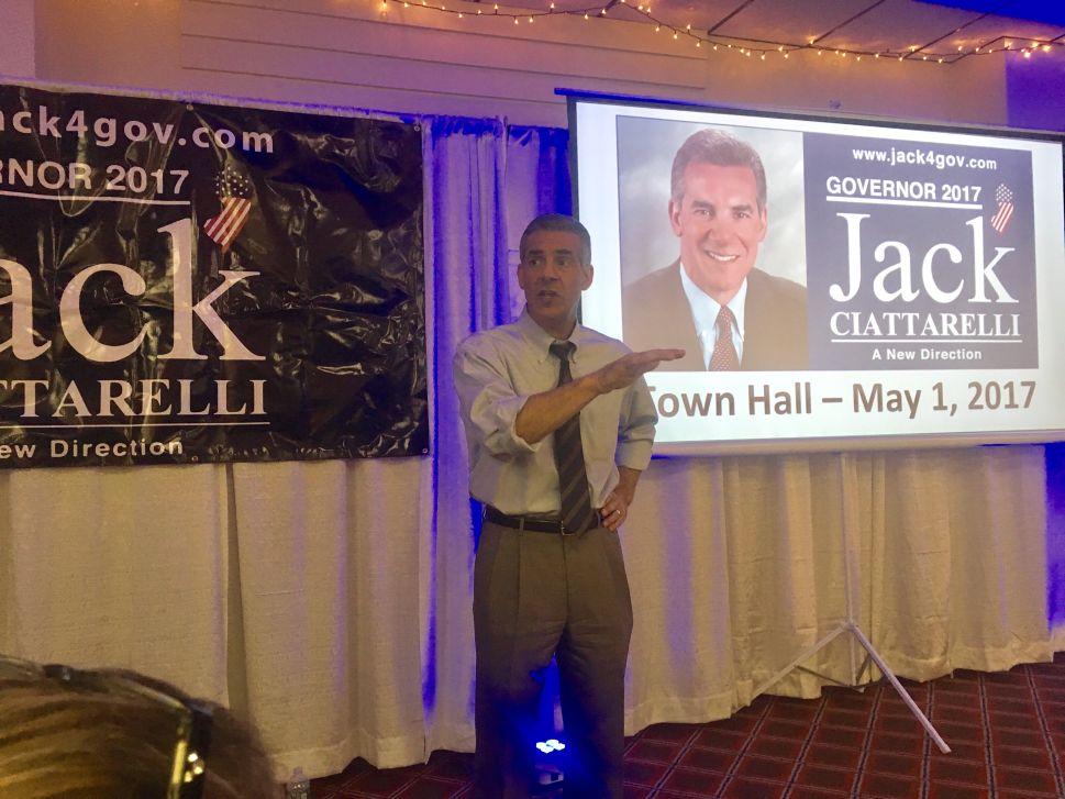 NJ Gov Race: Ciattarelli Talks Economic Plan, Raps Christie
