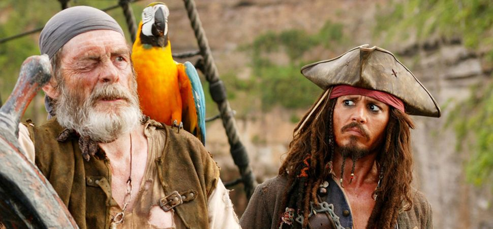 A Quick Word From: The Pirate who Has to Bead Jack Sparrow's Hair