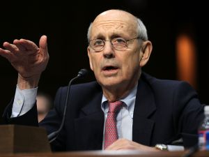 Supreme Court Justice Stephen Breyer.