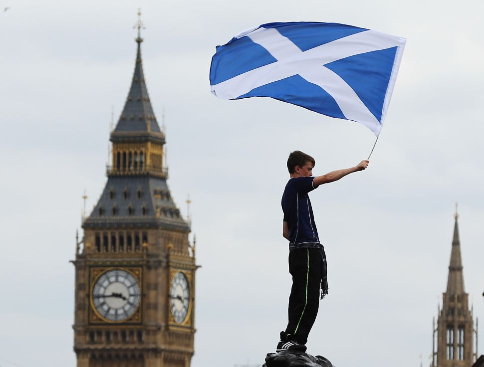 Scotland Will Never Get What It Wants Unless It's Independent