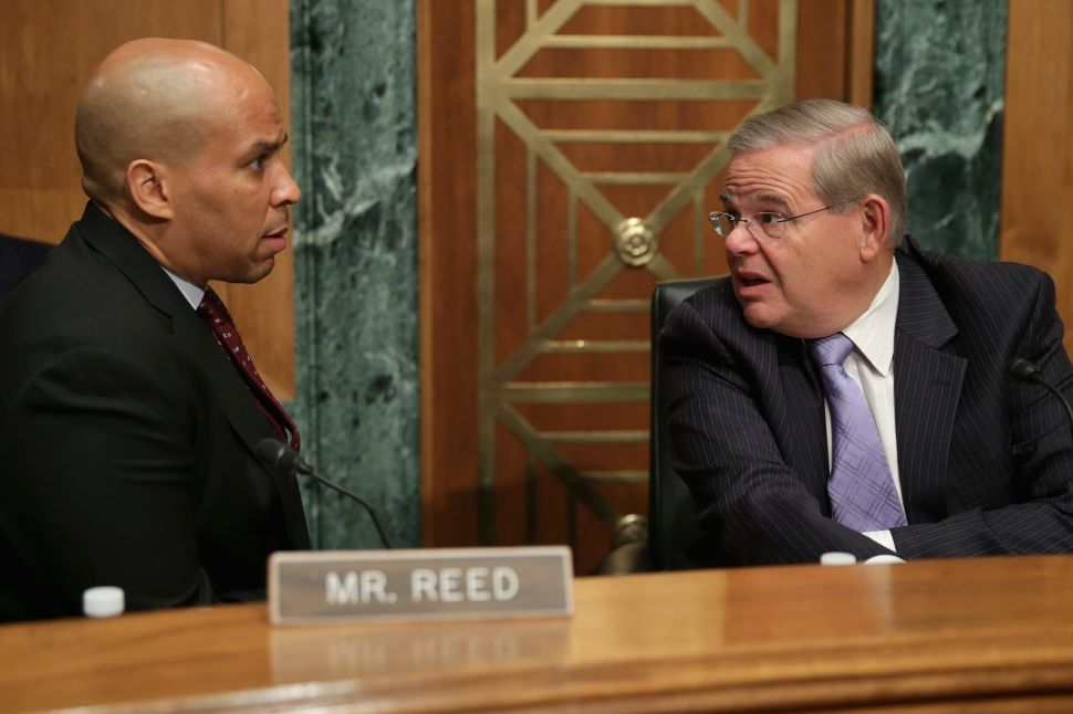 Christie's Horizon Plan a Risky Bet, Booker and Menendez Say