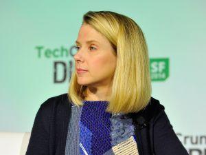 Yahoo! President and CEO Marissa Mayer.