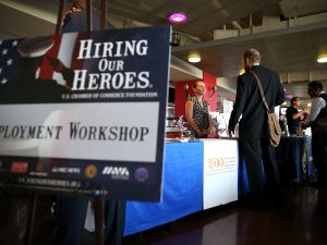The federal government has long shown a hiring preference for veterans to help them find jobs following their service.