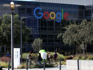 The Google headquarters was allegedly a hotbed of pay discrimination.