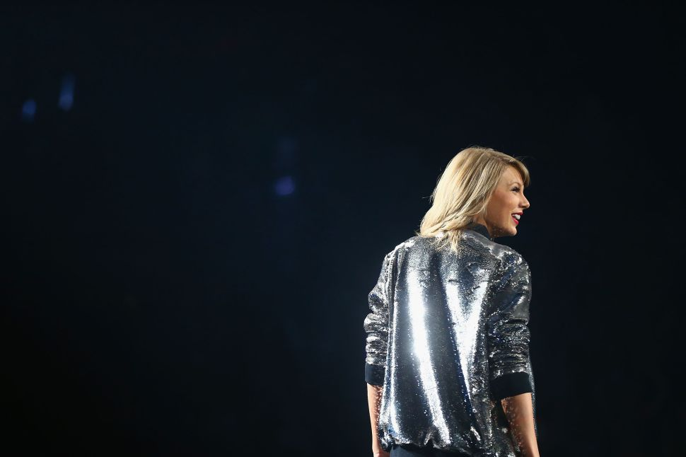 Taylor Swift Is Dating Someone Who Isn't Famous (Yet)