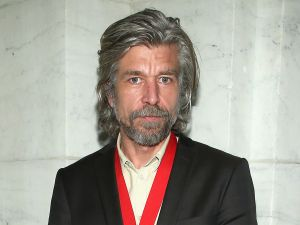 Author Karl Ove Knausgaard attends the 2015 Library Lions Benefit on November 2, 2015 in New York City. (Photo by )
