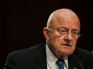 Former Director of National Intelligence James Clapper.