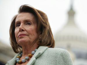 House Minority Leader Congresswoman Nancy Pelosi.