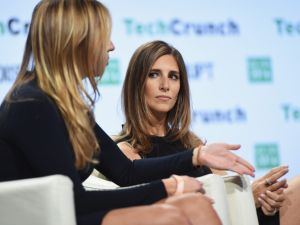 Co-founders of theSkimm Danielle Weisberg and Carly Zakin.