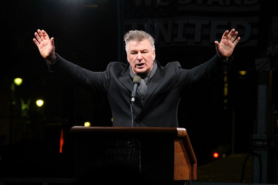 Alec Baldwin Coming to Raise Money for NJ Dems
