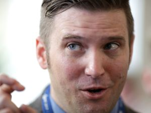 White supremacist Richard Spencer.