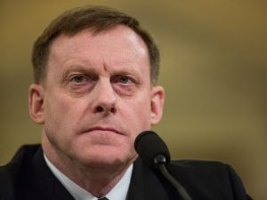 WASHINGTON, D.C. - MARCH 20: Michael Rogers, Director of the National Security Agency, testifies during a House Permanent Select Committee on Intelligence hearing concerning Russian meddling in the 2016 United States election, on Capitol Hill, March 20, 2017 in Washington, DC. While both the Senate and House Intelligence committees have received private intelligence briefings in recent months, Monday's hearing is the first public hearing on alleged Russian attempts to interfere in the 2016 election.