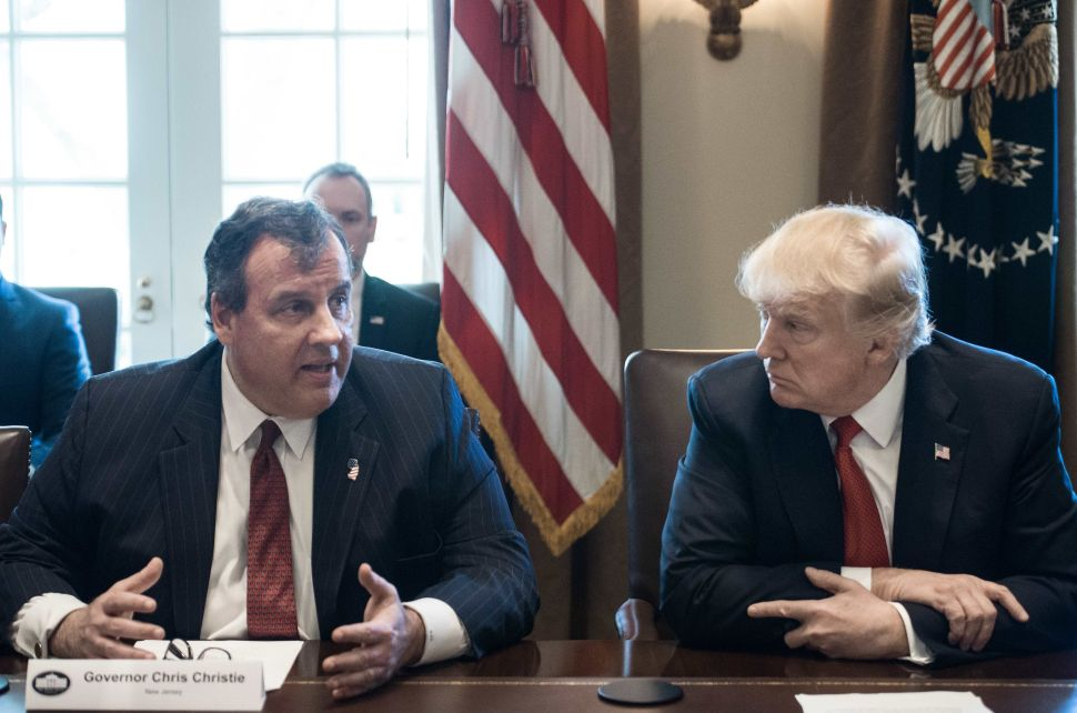 Christie: It Was a 'Big Mistake' to Replace Me on Trump Transition