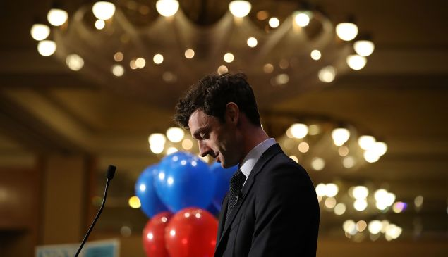Jon Ossoff is in a tight race with GOP candidate Karen Handel.