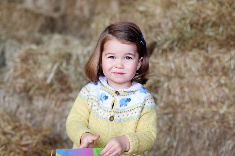 Princess Charlotte Is Celebrating Her Second Birthday With a Smirk