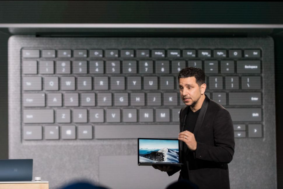 Microsoft's New Surface Laptop Recalls Decades-Old Legal Shenanigans