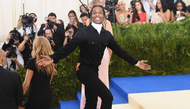 A$AP Rocky was the victim of theft.