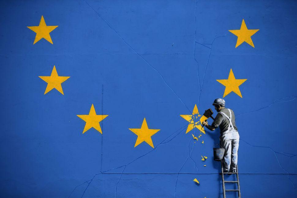 Finally, Banksy Has Some Feelings on Brexit