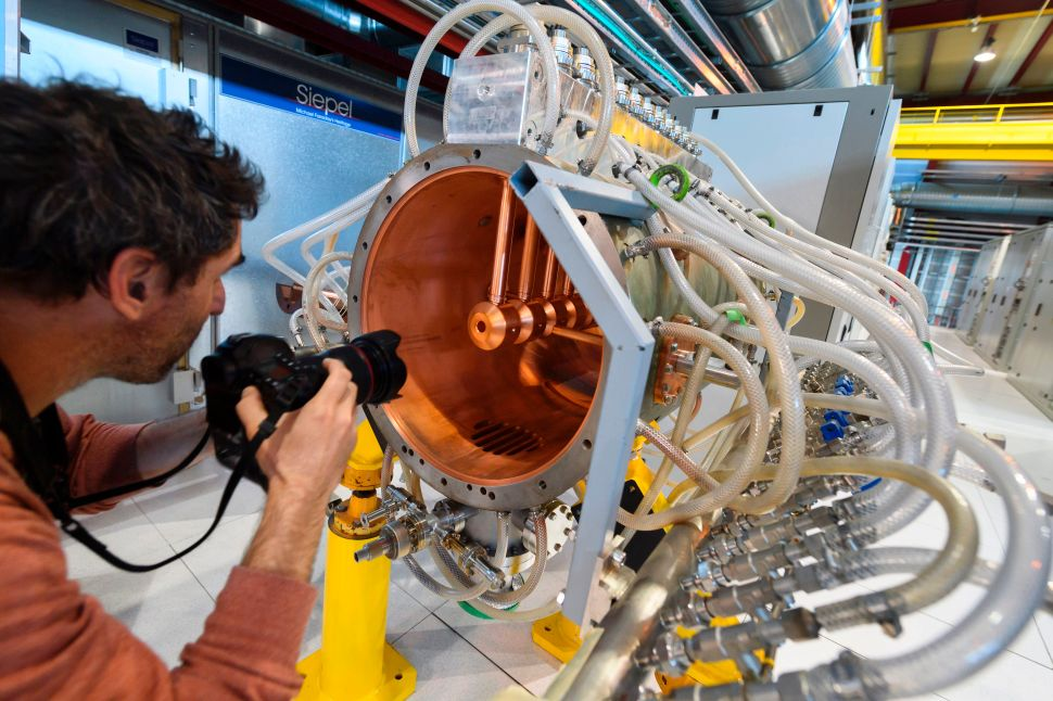 CERN's New Particle Accelerator Has Potential to Treat Cancer and Detect Art Fakes