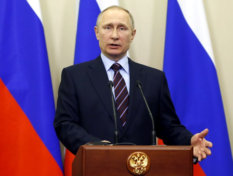 Putin and Russia Continue to Play Games