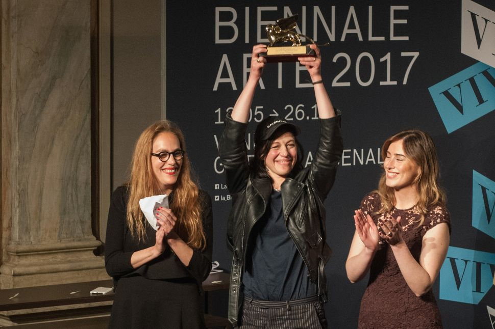 The Venice Biennale's Big Winners: Anne Imhof, Hassan Khan, Franz Erhard Walther