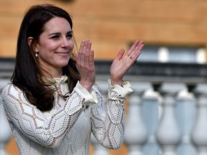 Kate Middleton wears white before Labor Day.