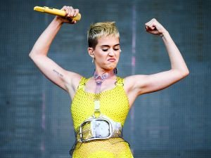 Katy Perry performs on May 13, 2017 in Carson, Calif.