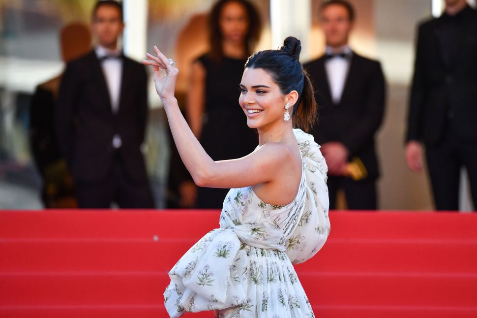 Kendall Jenner Finally Snags a Fitness Contract