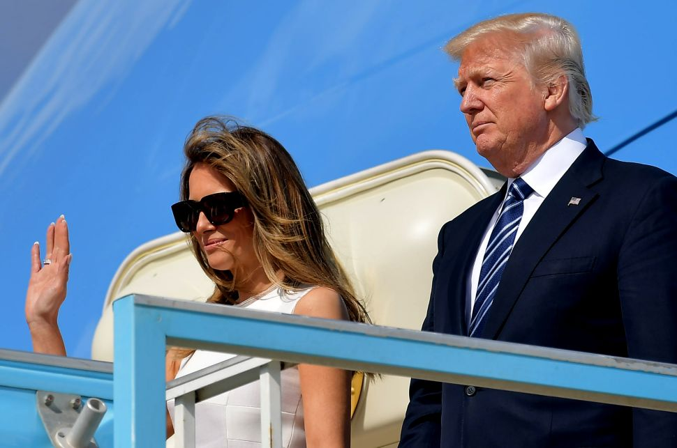 The First Lady of Israel's Gift to Melania Trump Was Truly Touching